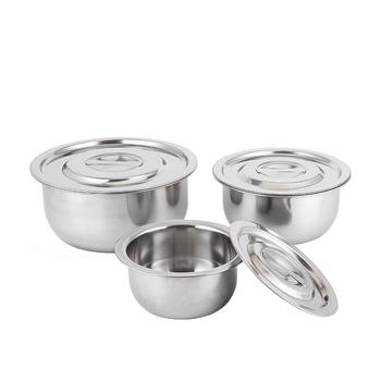 Peralatan Dapur Stainless Steel India Hot Pot Set Masak Memasak