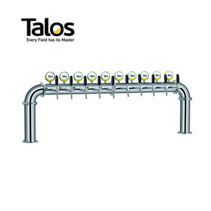 TALOS High-grade Pub Equipment U type 10-way 102mm Draft Beer Tower
