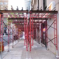 walk through frame / quick stage scaffolding with Q235 steel