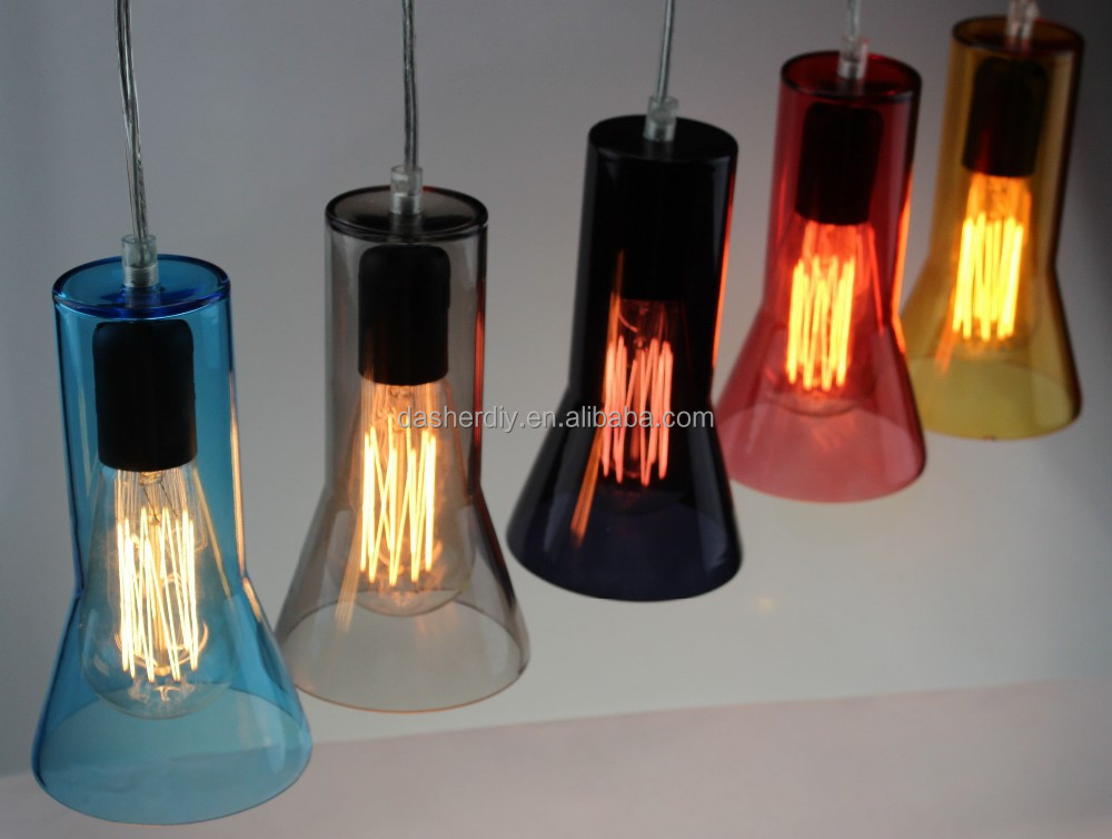 Unique european style pendant lamp hanging long glass pendant light from Jansou lighting