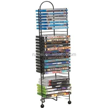 Metal Multiple Rack Cd Dvd Display Stand Buy Cd Dvd