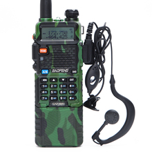 4 Pcs Baofeng UV-5R 3800 MAh <span class=keywords><strong>Walkie</strong></span> <span class=keywords><strong>Talkie</strong></span> 5 W VHF UHF Dual Band Radio Radio CB Portabel ham Radio UV5R + Kabel