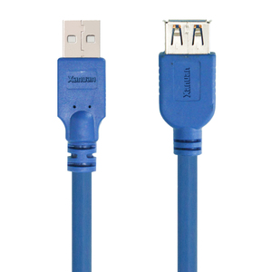 XANUAN 24AWG USB3.0 A male to Female cord USB3.0 extension cable for USB Flash Drive Card Reader Hard Drive Keyboard