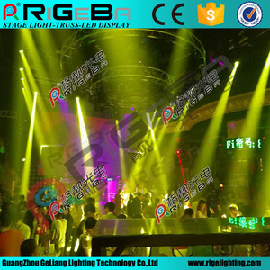 Hot sale aluminum rotate revolving truss for show and events