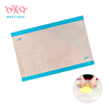 Factory Price Non Stick Pyramid Silicone Pastry Baking Mat