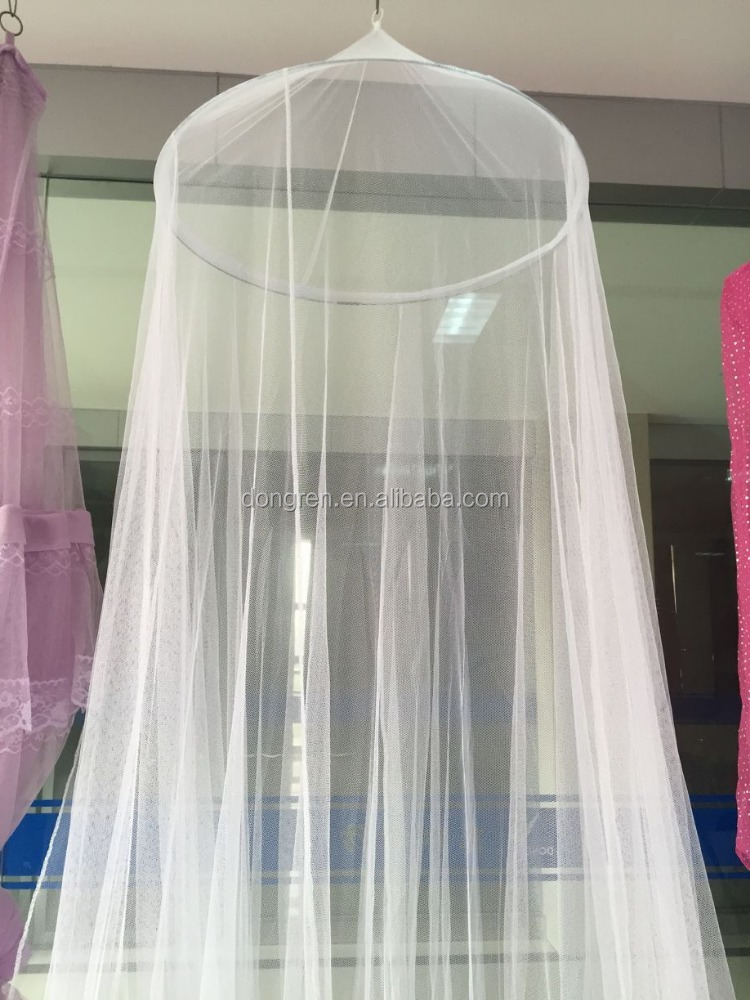 Hanging mosquito net and Easy Install white mosquito net