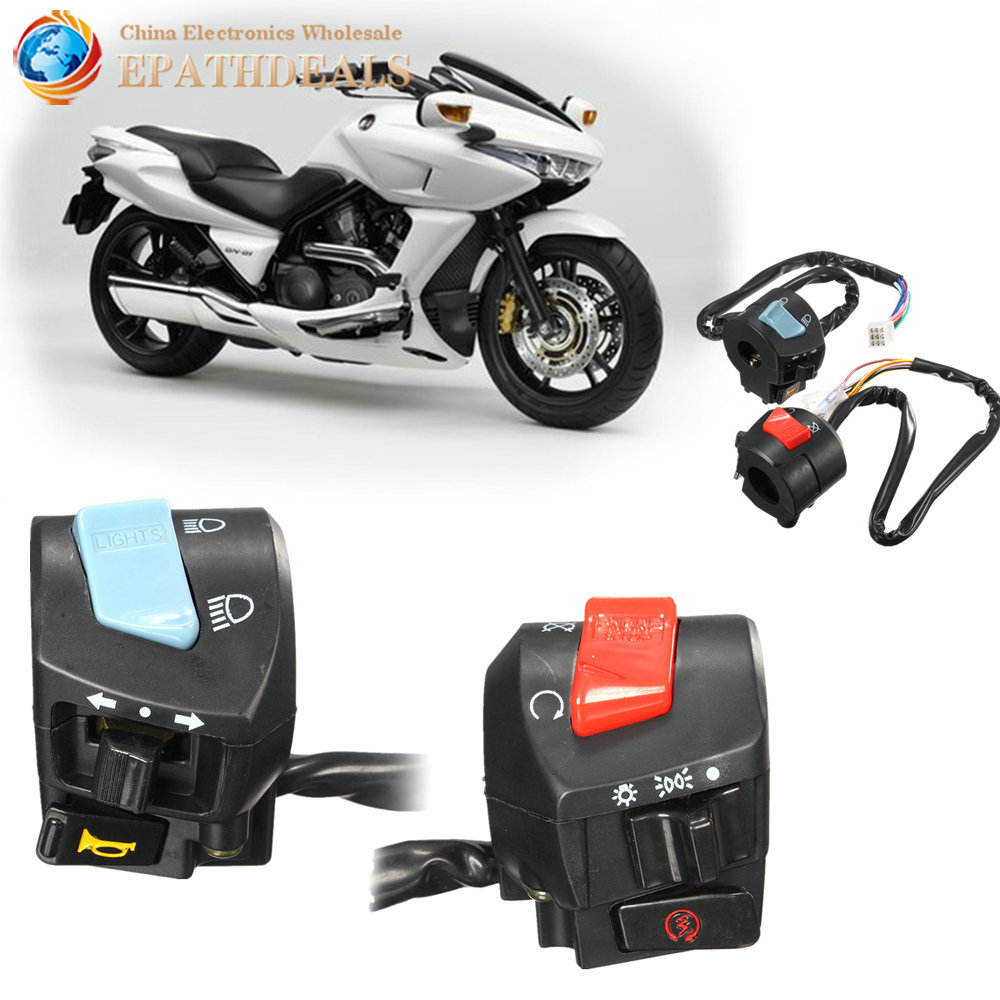 Light Controller For Motorcycles: 2pcs! Universal Waterproof 7/8 Inch Motorcycle Handlebar