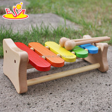 2017 New design baby wooden xylophone toy funny kids wooden xylophone toy best sale children wooden xylophone toy W07C048