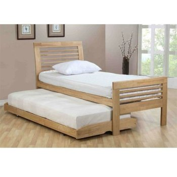 Ridgeway trundle pull out bed made of gemilina wood buy for Pull out bed