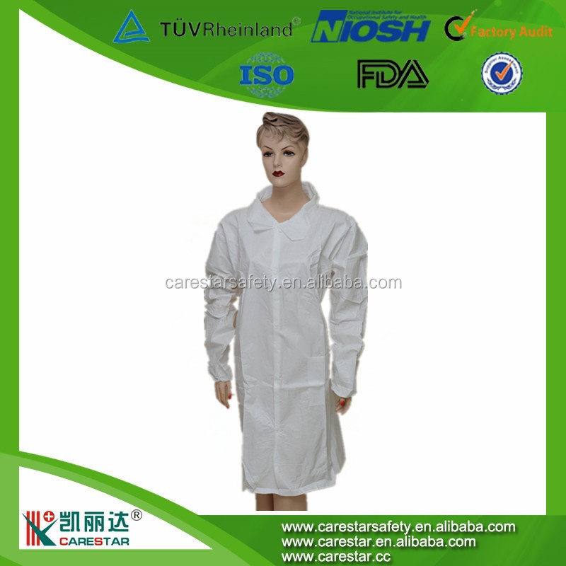 Doctor White Coat Sale With Buttons/non Woven Doctor Lab Coats ...