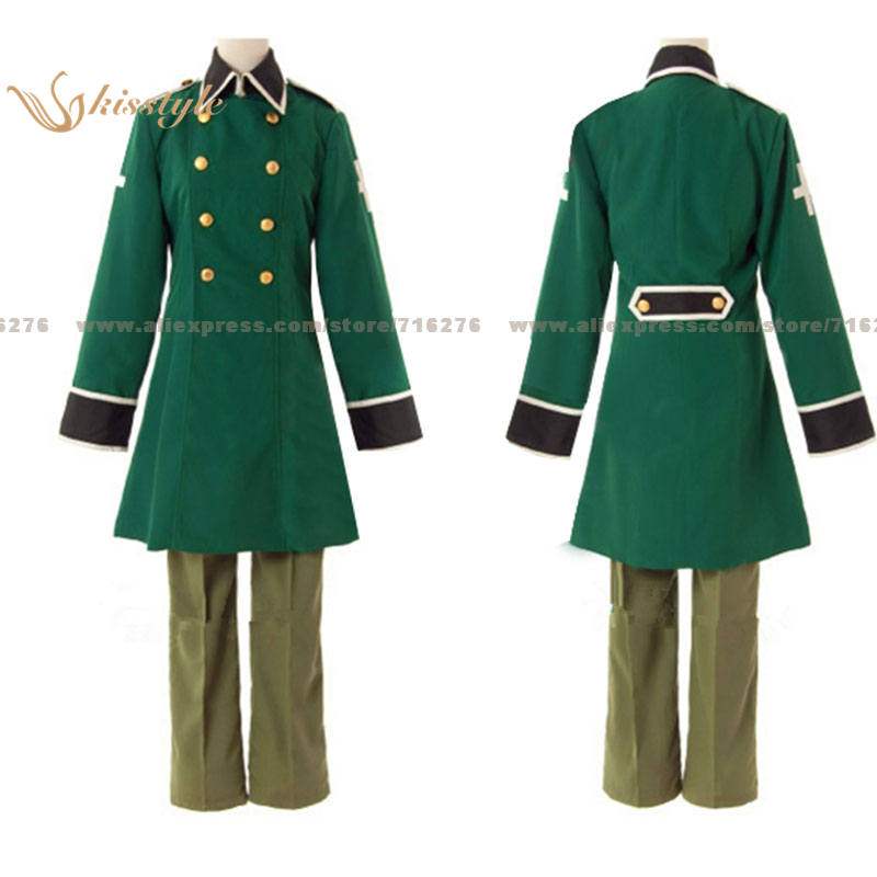 Kisstyle Fashion APH Hetalia: Axis Powers Switzerland Uniform COS Clothing Cosplay Costume,Customized Accepted