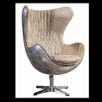 Antike Pelz Leder Büro Egg Chair Buy Egg Chairbüro Egg Chairpelz
