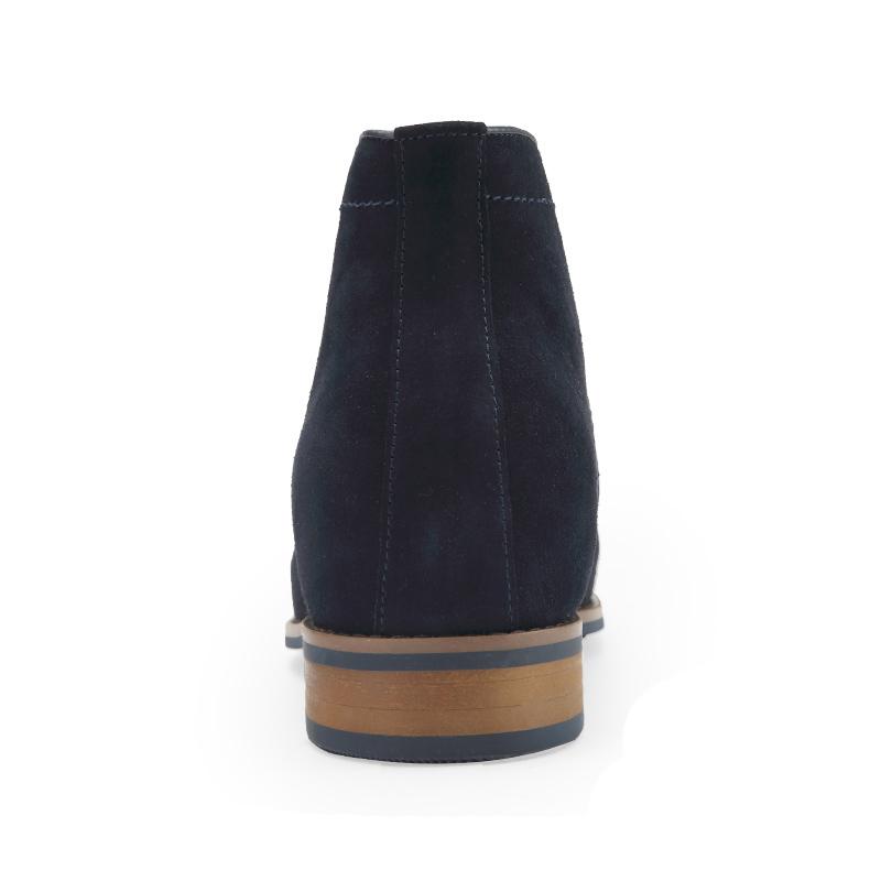Italian Suede Men Luxury Taller Increasing Height Shoes Leather Elevator vqf7CnwvA