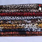 colorful minky leopard zebra animal skin print velour fabric,upholstery sofa velvet fabric animal print