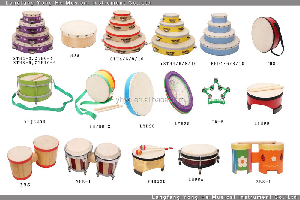 Oct 11,  · There are literally hundreds of types of drums and percussion instruments out there. Here are some of the most basic: DRUM SET - This is the standard thing you see in .