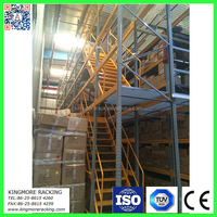 Warehouse storage industrial mezzanine rack floor system