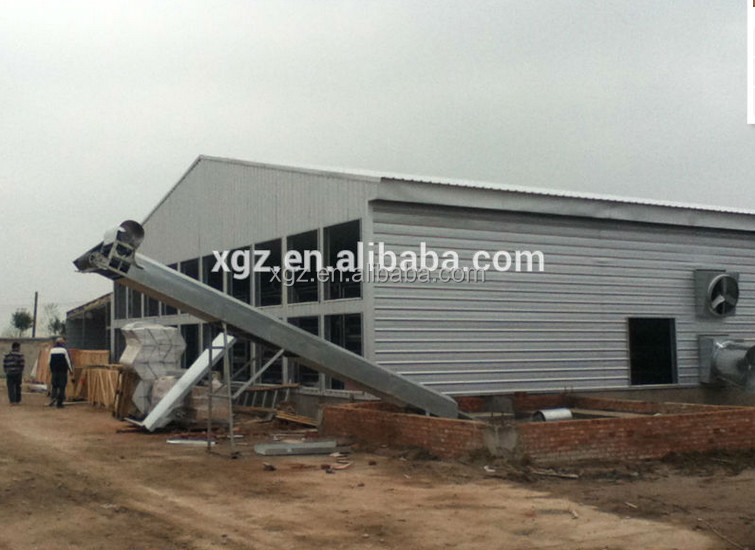 cheap prefabricated poultry layer farm chinese chicken coop