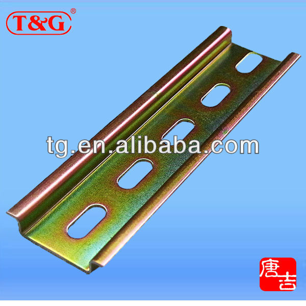 Latest promotion price TS35 aluminum zinc plating din rails clip