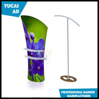 Advertising fabric banner stands for exhibition booth, trade show display