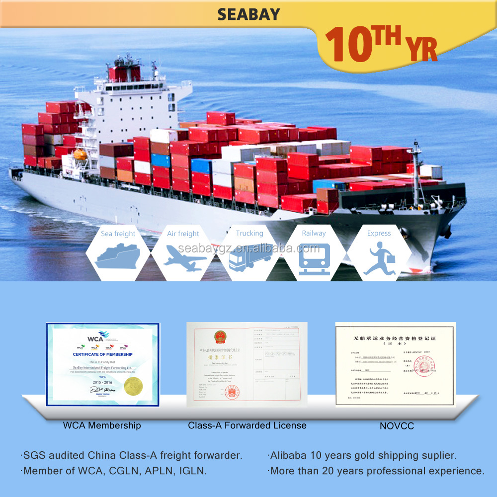 Sea Shipping freight from China to Algeria