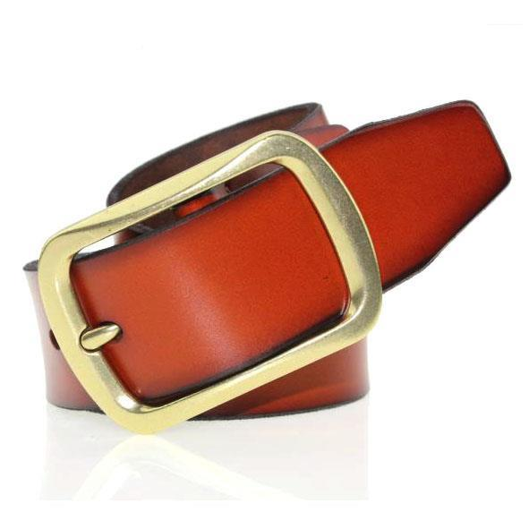 New 2015 Hot Belt Fashion Belts For Mens  Brand Belts Genuine Leather Luxury Retro All Match Gold Pure Mens Buckle Fashion Belts