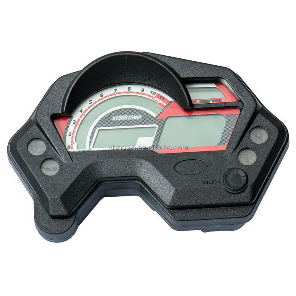 LCD Display Motorcycle Digital Speedometer for YAMAHA FZ16