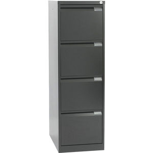 Office Furnitures Storage Aisle and Back Storage Boxes Financial Staff 4 Drawer Filing Vertical Cabinets