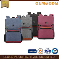 2016 China laptop backpack bag high quality fashion 18 inch custom backpack