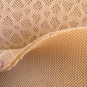 jacquard air mesh fabric 3d spacer air mesh fabric for car seat cover upholstery fabric
