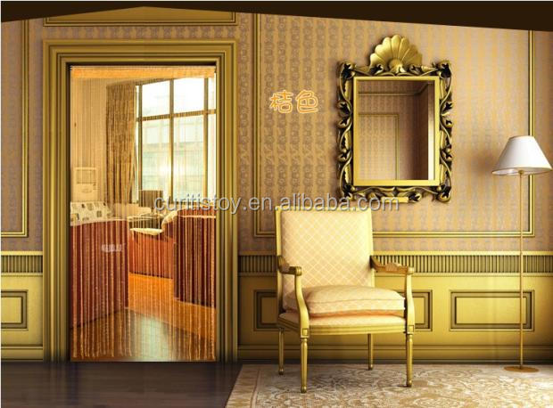 100cm*200cm polyester tube style solid color lined cafe curtains decorative estores para ventanas fashion line curtain designs