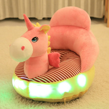 2017 Wholesale New Design Cute LED Plush Baby Chair