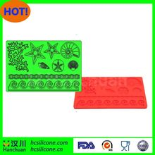 Sedex Audit factory custom fondant lace silicone molds
