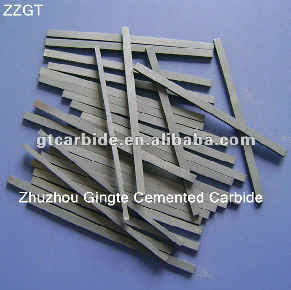 soft wood cutting tungsten carbide strips in China