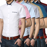 W92510A 2016 2016 new style men summer shirts formal short sleeve shirts for men
