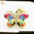 stylish fake gold jewelry set colorful oiled butterfly shape jewelry with small moq