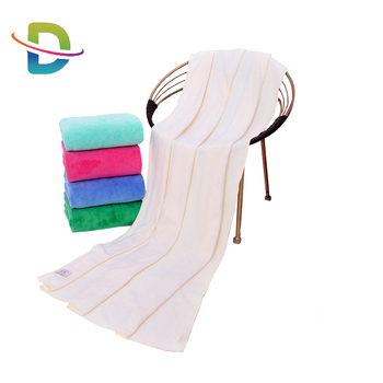 2019 microfiber salon towel with embroider logo with hair towel and wrap towel