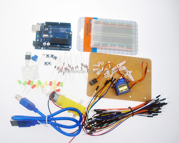 UNO R3 LED SG90 Educational Electronics Components Based Learning Starter Kit