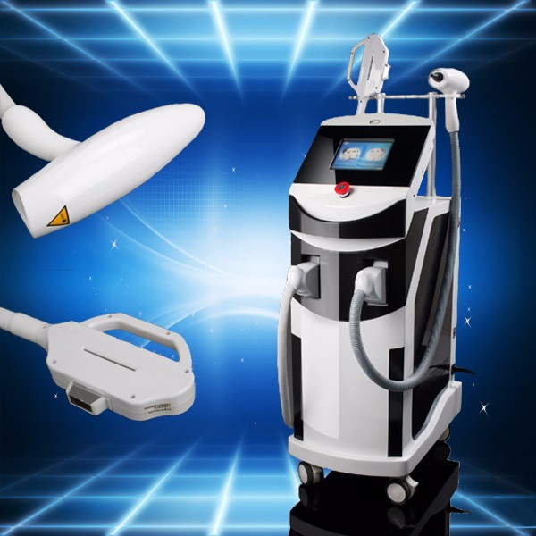 E-light IPL+RF+Laser plasma treatment, tattoo removal machine E-002