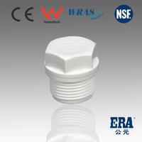 plastic pipe fittings SCH40 Standard THREAD PLUG 1/2
