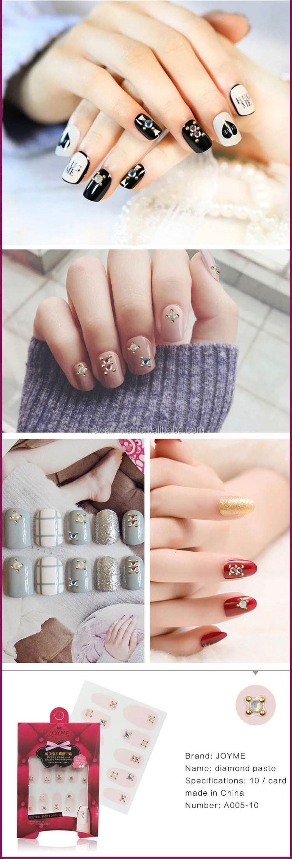 Rhinestone Nail Designs 3d Printer Jewelry Nails Accessories - Buy ...