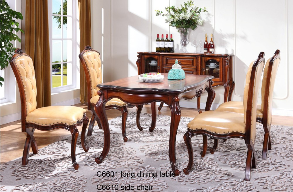 indian carved dining table. c6618 wooden traditional indian dining table , room furniture carved brown antique