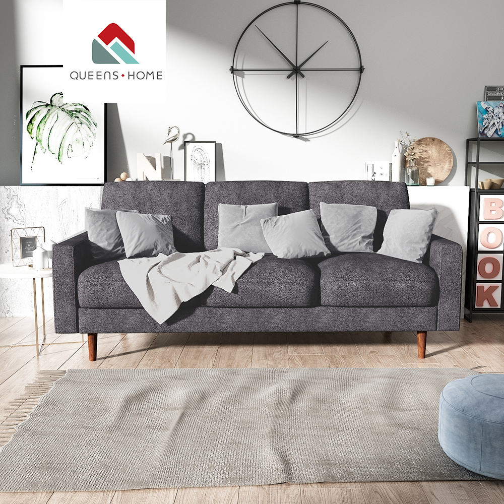 Astounding Queenshome Black Sofa And Loveseat Sectionals For Sale House Furniture Home Modern Small Grey Suede Couch Three Seater Kd Sofa Buy Furniture Cebu Machost Co Dining Chair Design Ideas Machostcouk