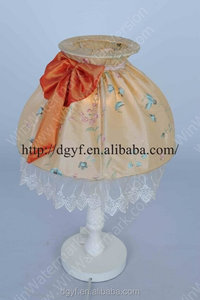 fabric lampshade victorian style lampshade new product