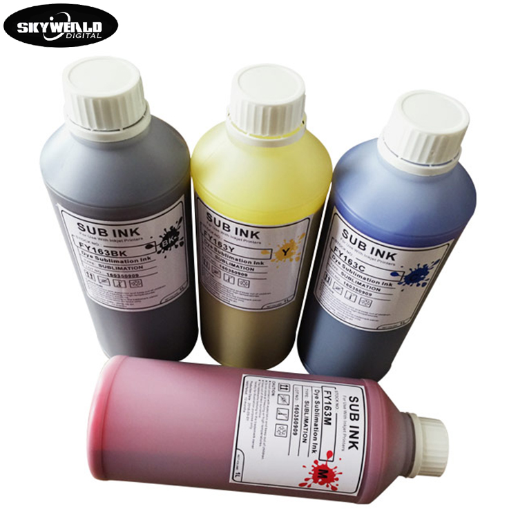 Fast Dry Europe and America hot sale dye sublimation ink price