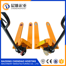 cby-ac hand pallet jack truck 5Ton rubber wheel from China