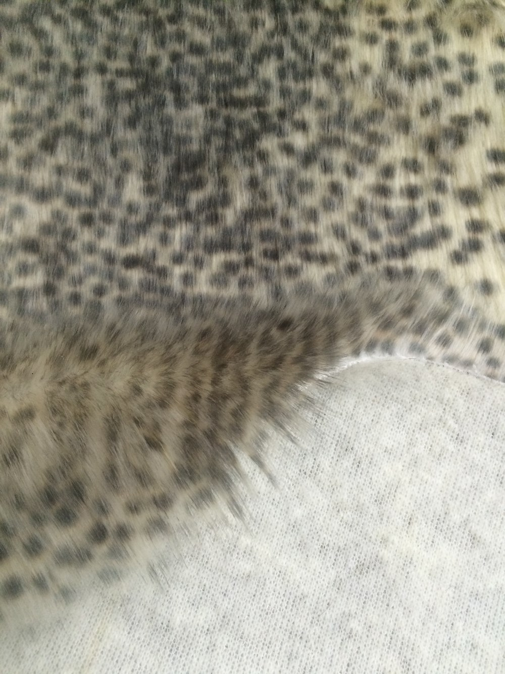 Super soft long hair fake fur fabric