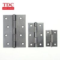 RH012 self color heavy duty five knuckle iron butt hinge