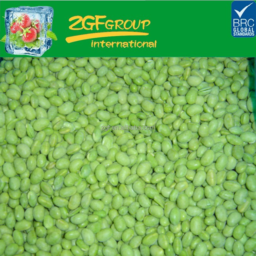 IQF Grade A round green beans