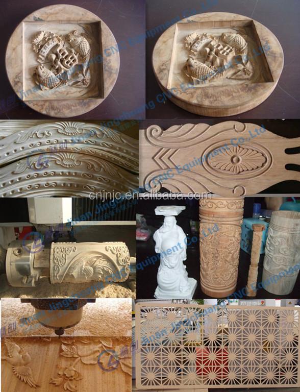 Jc-1325 China 3d Cnc Engraver 1300x2500mm 3d Wood Carving Cnc ...