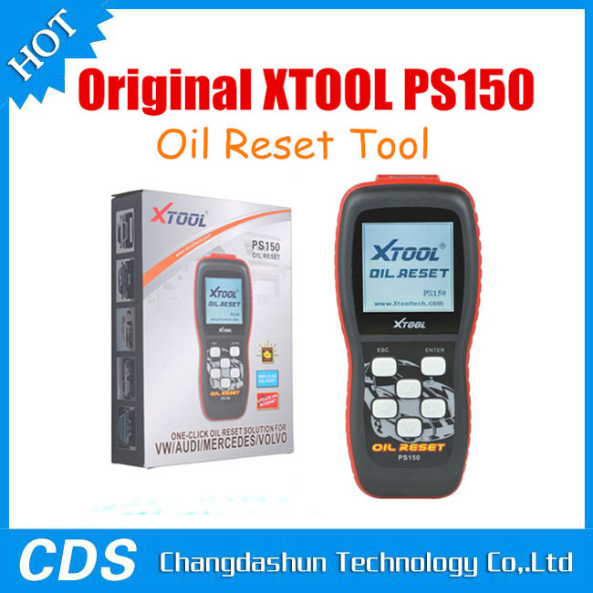 XTOOL PS150 Oil Light Reset Tool One Click Oil Reset Solution for VW//AUDI//Mercedes//Volvo